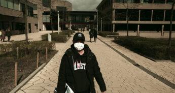 coronavirus mondkapje campus