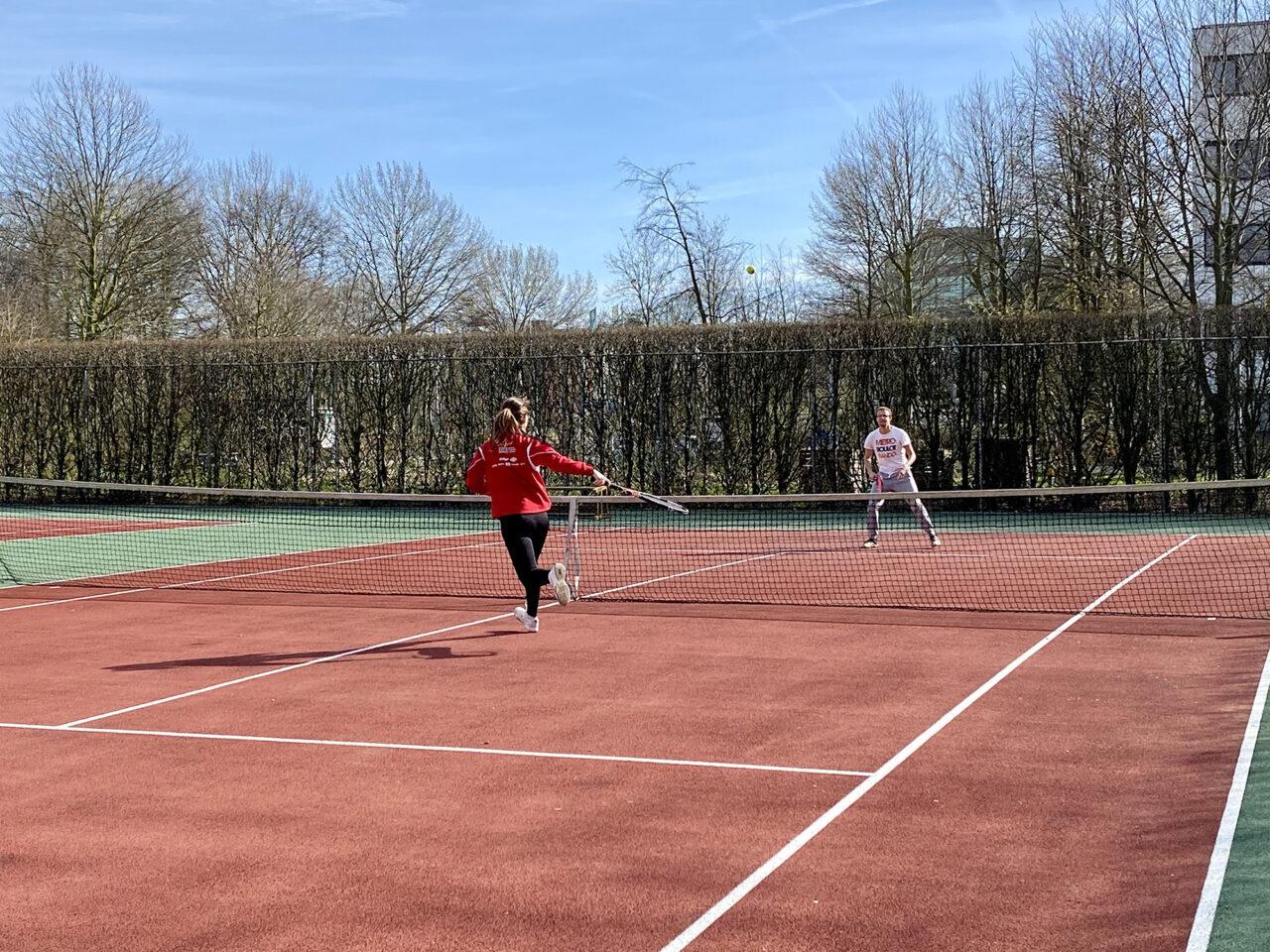 Tennis op de campus corona 1
