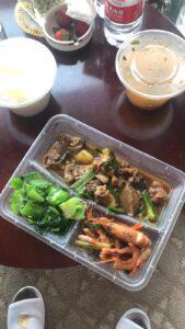 maaltijd quarantaine Nick