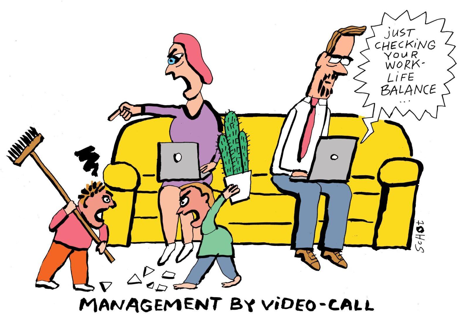 corona labour market home office work life balance – bas van der schot