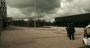 empty campus corona