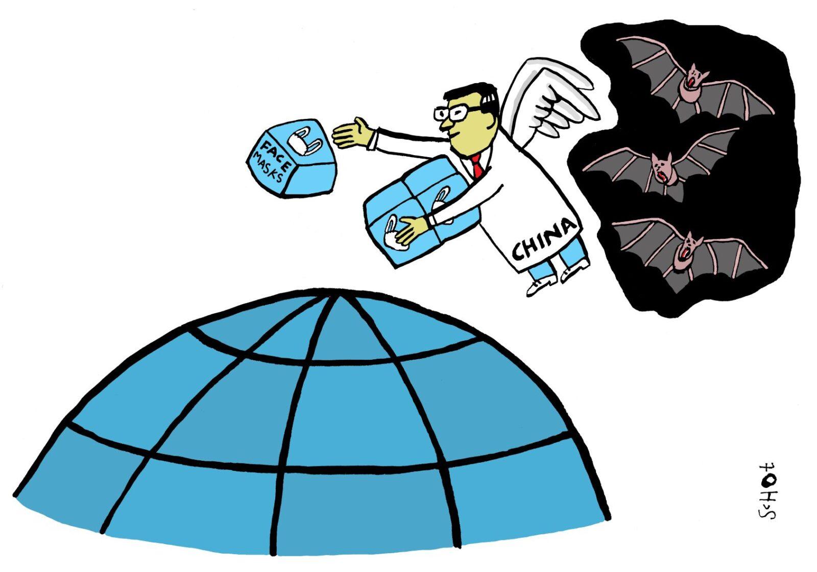 kwestie china corona vleermuis EN – bas van der schot