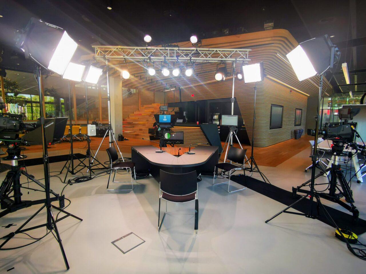 Behind the scenes at Erasmus TV