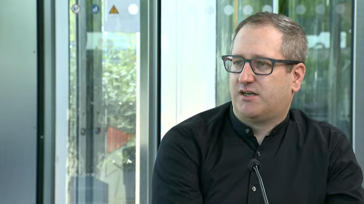 Matthias Wieser in Erasmus TV