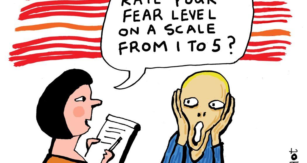 em-angst niveau schreeuw-eng