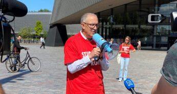 Burgemeester Aboutaleb coronacampagne