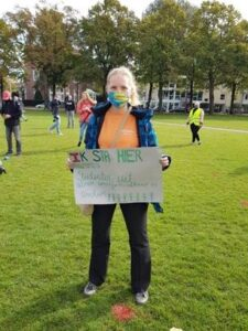 lauri schippers studentenprotest Amsterdam HOP