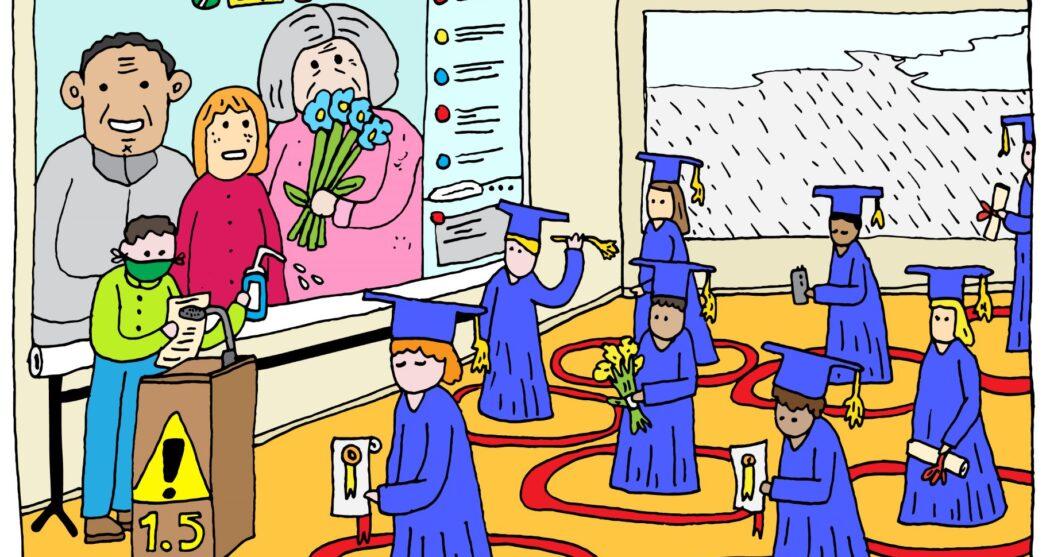 Graduation ceremony ibcom iida afstuderen afstudeerceremonie corona diploma – Pauline Wiersema