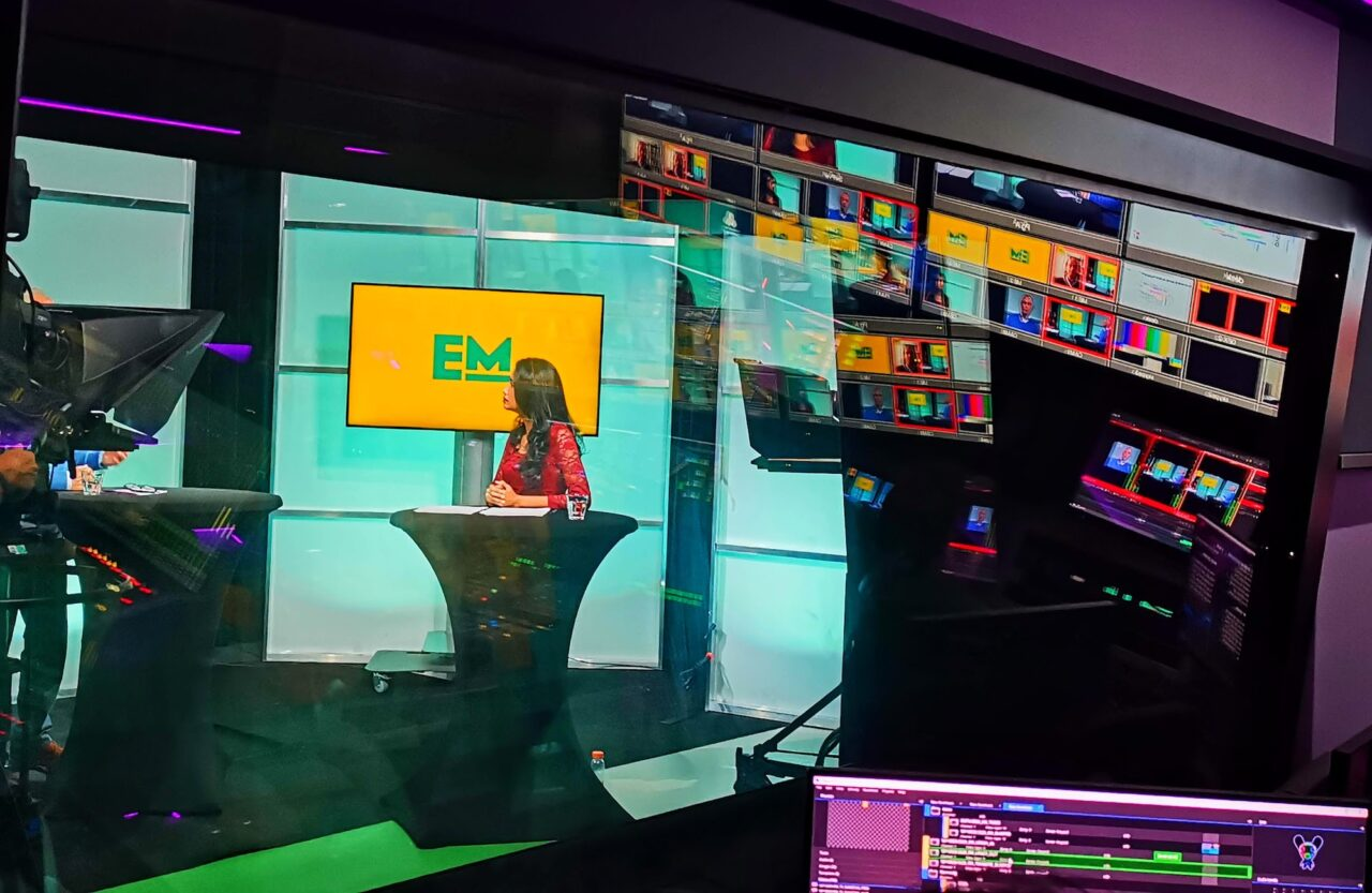 Behind the scenes at EM TV