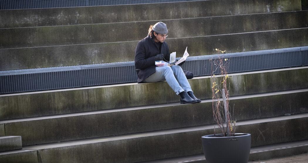 trappen campus student studeren corona – Levien Willemse