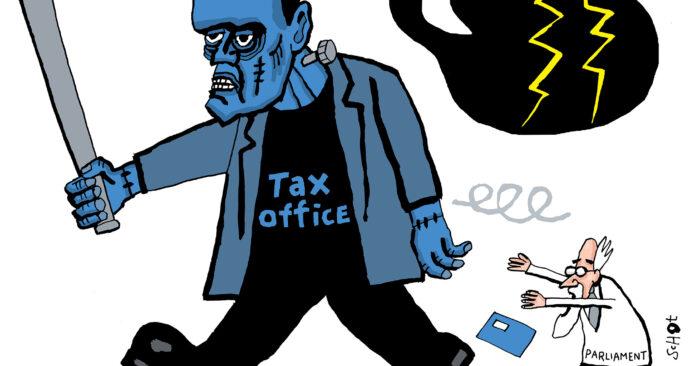 kwestie belastingdienst frankenstein-eng – bas van der schot