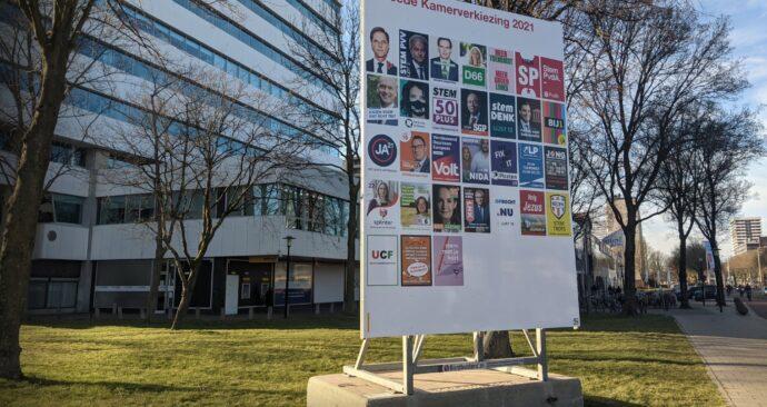 billboard verkiezingen tweede kamer 2021 posters foto Tamara Awwad 2 (EM)