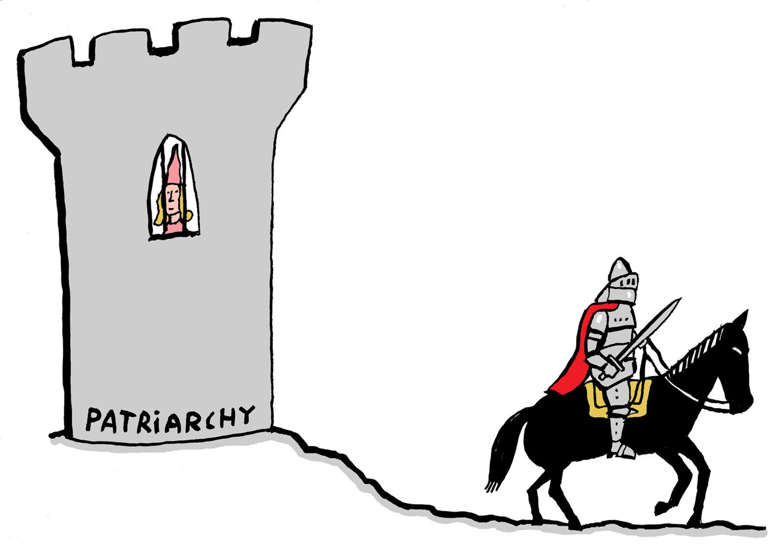 De Kwestie – patriarchaat ridder-eng – bas van der schot