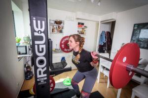 Dominique van Deursen weightlifting