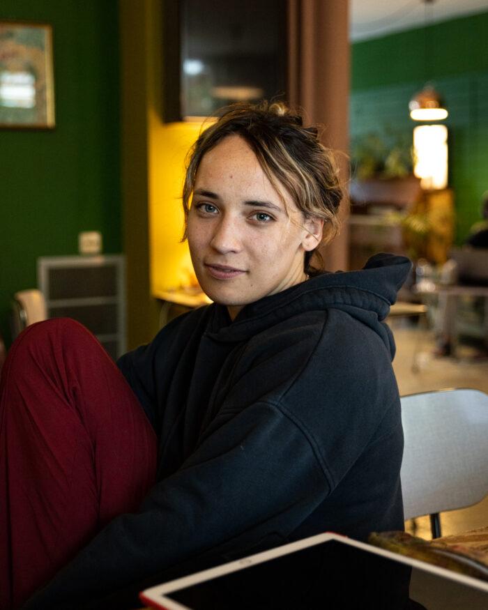 WDKA-student Olive.