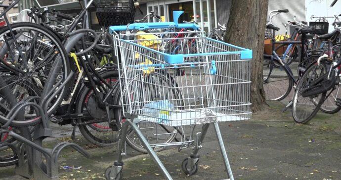 winkelwagen shopping cart Kralingen overlast inconvenience